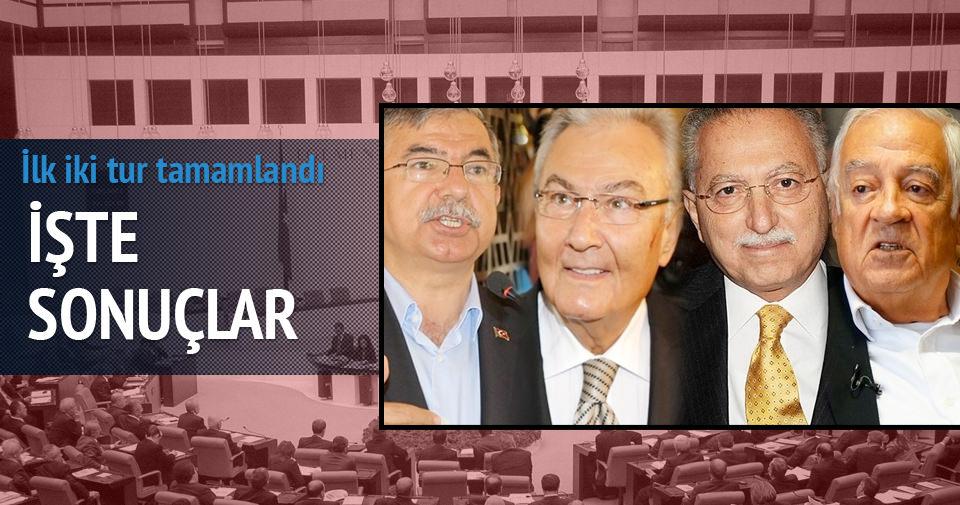 Meclis Başkanlığı seçiminin ilk iki turu tamamlandı