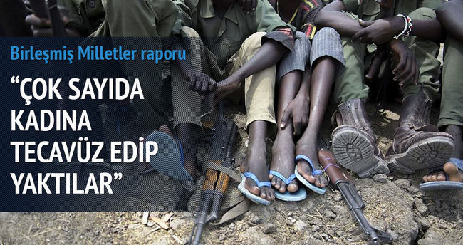 BM raporu: Çok sayıda kadına tecavüz edip yaktılar