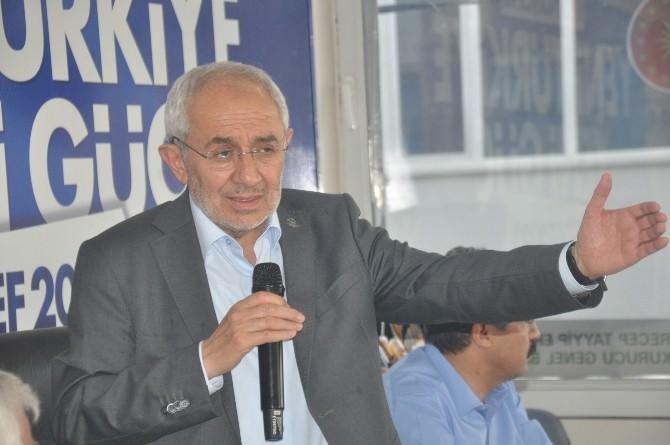 Erdem, Kahta'da HDP'ye Yüklendi