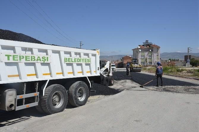 Eskişehir'de Yol Yapım Çalışmaları