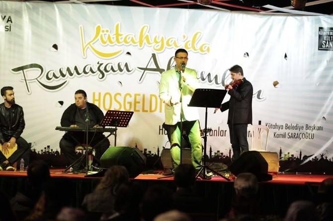 Kütahya'da İbrahim Sadri Konseri