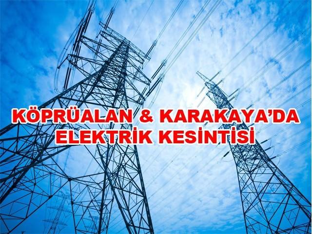 Söke'de 4 Gün Elektrik Kesintisi
