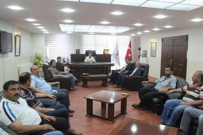 Memur-sen'den Milletvekili Durmaz'a Ziyaret