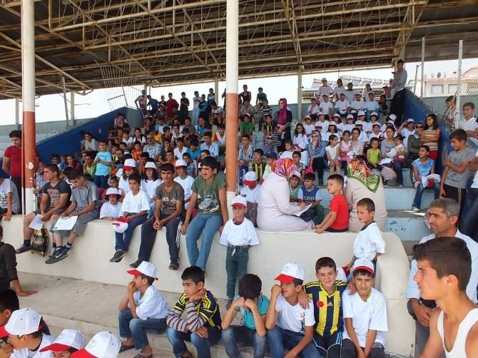 Muş'ta Yaz Spor Okulları Start Aldı