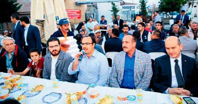 Duruay, sanayi esnafı ile iftar yemeğinde buluştu