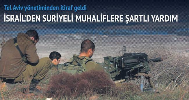 İsrail'den Suriyeli muhaliflere yardım