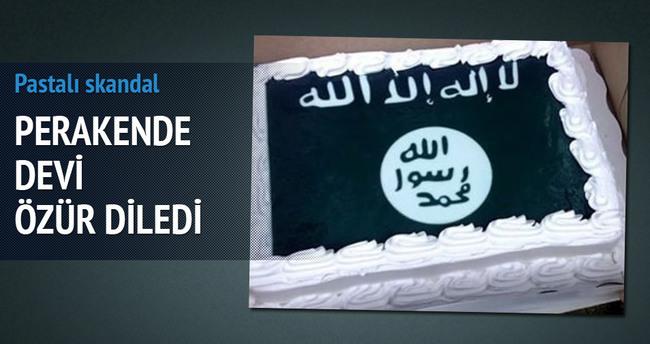 ABD'li perakende devi Walmart'ta DAEŞ bayraklı pasta krizi!