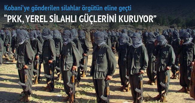 'PKK, yerel silahlı güçlerini kuruyor'