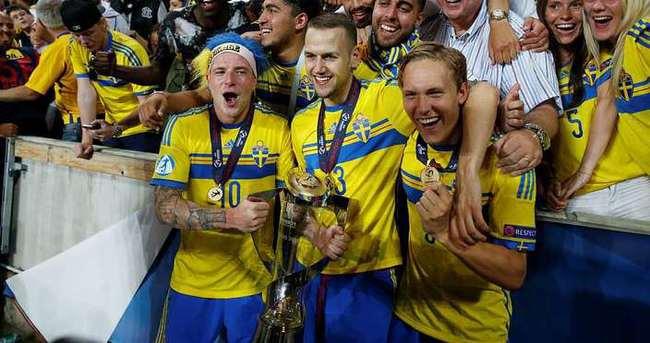 Milosevic'in İsveç'i Avrupa Şampiyonu