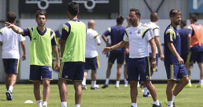 Fenerbahçe'de Simon Kjaer ilk idmanına çıktı