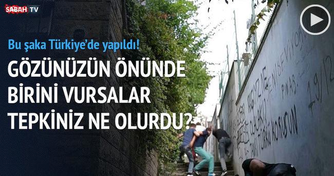 Türkiye'de vurulma şakası