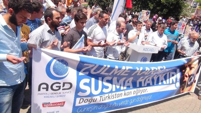 AGD'den Doğu Türkistan Katliamına Tepki