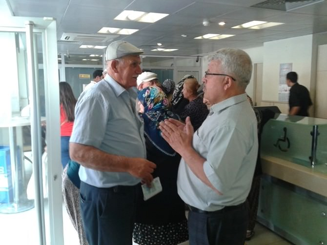 Tekirdağ PTT Başmüdürü Cafer Ersoy, Malkara Postanesini Denetledi