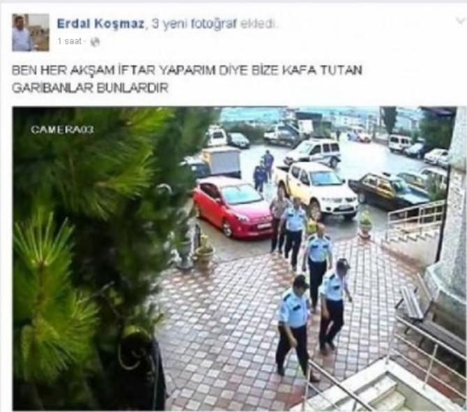 İmamdan Halk İftarına Katılan Polislere Tepki