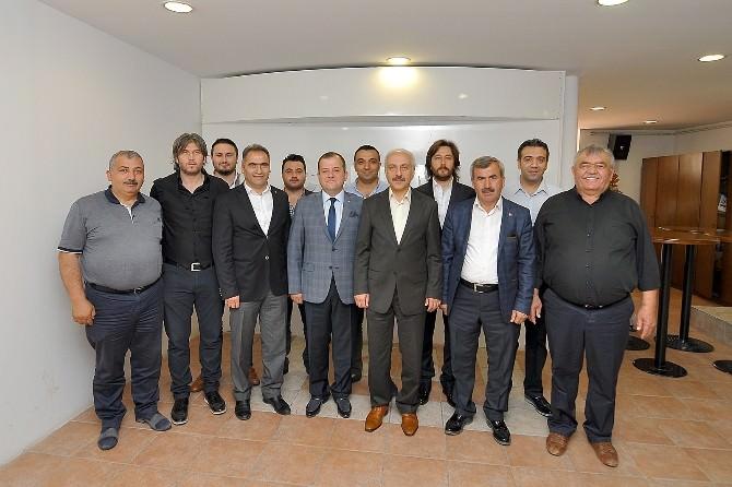 Çorum Belediyspor'dan TSO'ya Ziyaret