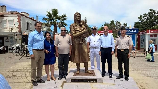 Denizcilik Bayramında Denizciler İçin Heykel Açtılar