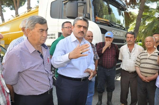 Nazilli'de Devir Teslim Yapılan Araçlar Basına Tanıtıldı