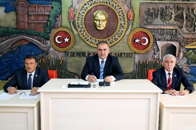 Gümüşhane İl Genel Meclisi'nin Temmuz Ayı Toplantıları Başladı