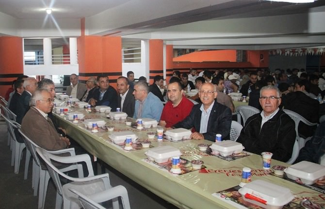 Kayseri Ticaret Odası, Erciyes Feneri'nin İftar Sofrasına Katkı Sağladı