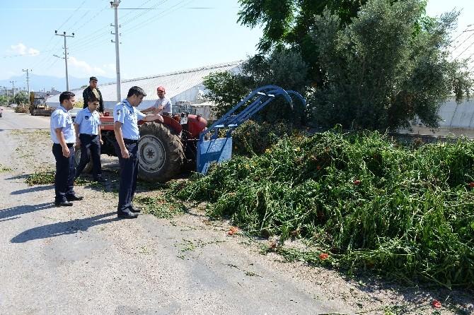 Kumluca'da Sera Atıkları Sıkı Denetimde