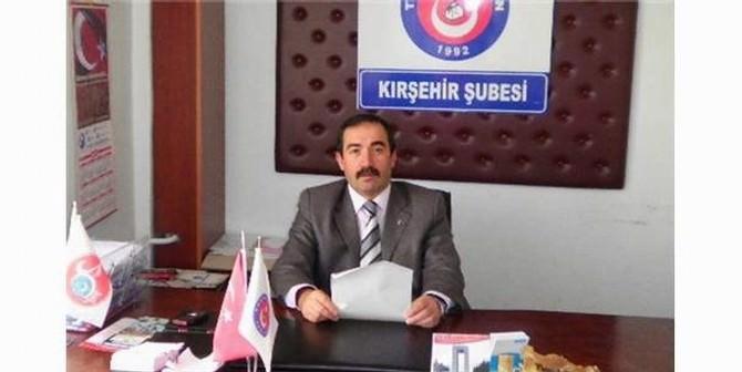 Kırşehir Tss Başkanı Yusuf Aydın: