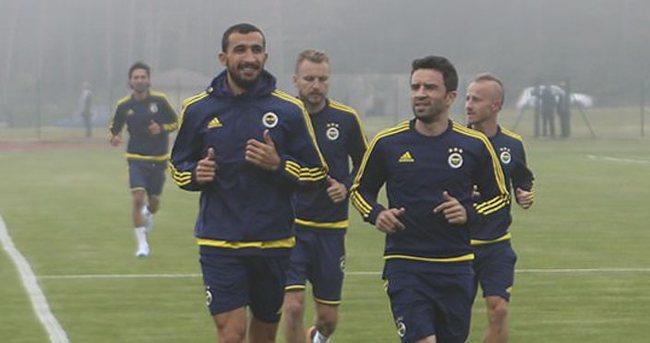 Hasan Ali Kaldırım ve Alves antrenmana katılmadı