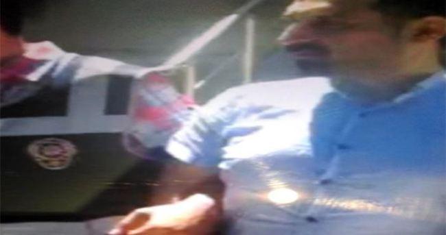 Suç makinesinin üzerinden gazeteci kimliği çıktı