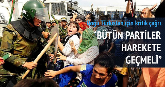 Yıldırım'dan kritik Doğu Türkistan çağrısı