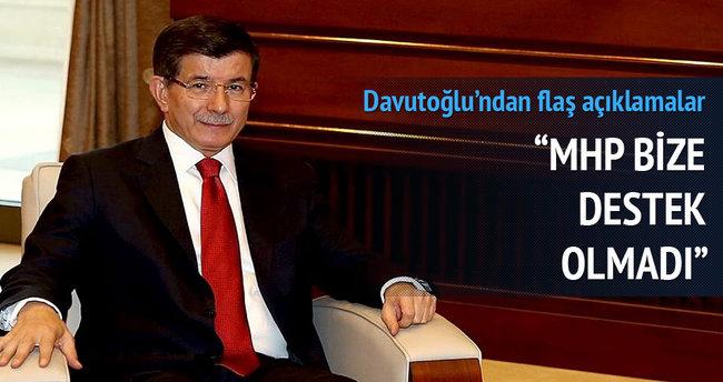 Davutoğlu canlı yayında soruları cevapladı