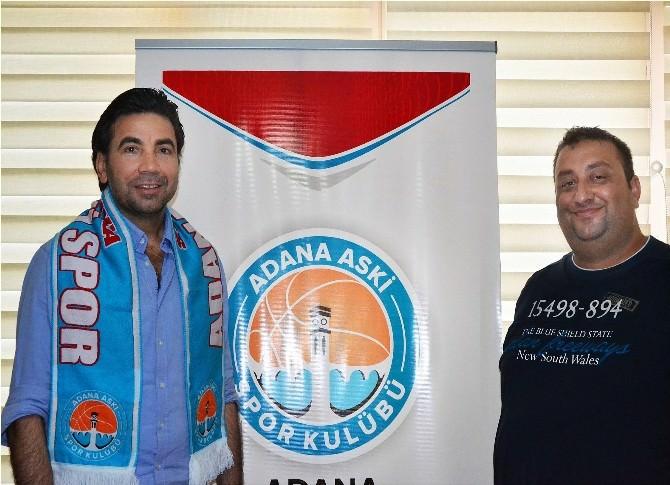 Özköylü'den Adana ASKİ Spor'a Ziyaret