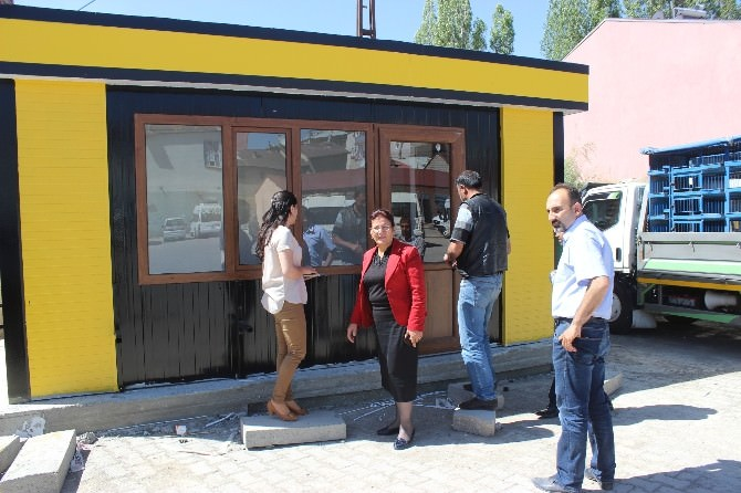 Ağrı'da Taksi Durakları Yenileniyor
