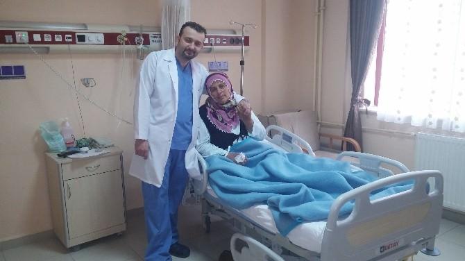 İspir Devlet Hastanesinde Kapalı Safra Kesesi Ameliyatı Gerçekleştirildi