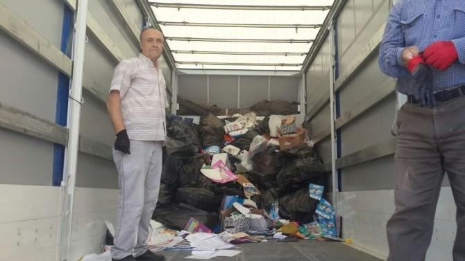 Bozüyük'te 50 Ton Atık Kâğıt Eğitime Kazandırıldı