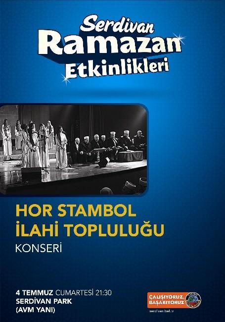 """""""Hor Stambol"""" Cumartesi Gecesi Sahne Alacak"""