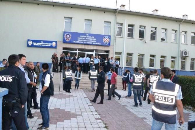 Keşan'daki Huzur Operasyonunda 2 Tutuklama