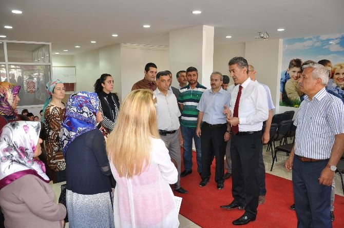 Elbistan'da Aile Destek Merkezi Açıldı