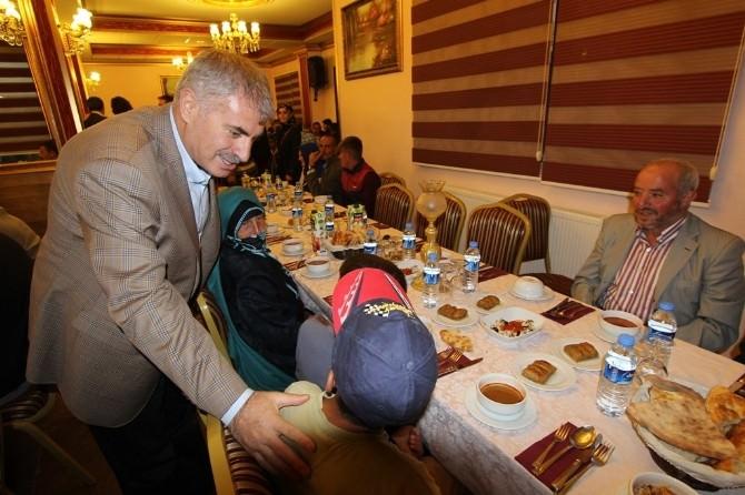 Belediye Başkanı Memiş, Engelli Vatandaşlarla İftarda Buluştu
