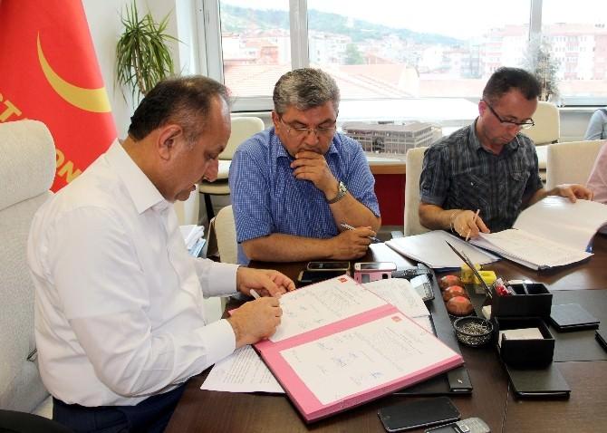 Kastamonu Belediyesi, Otopark İhalesini Gerçekleştirdi