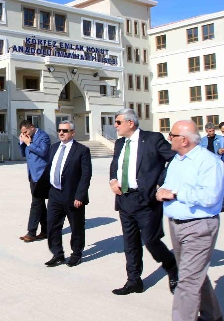 Karaosmanoğlu İmam Hatip Okullarını İnceledi