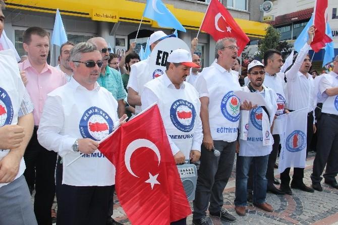 Doğu Türkistan Halkına Yapılanlar Edirne'de Kınandı
