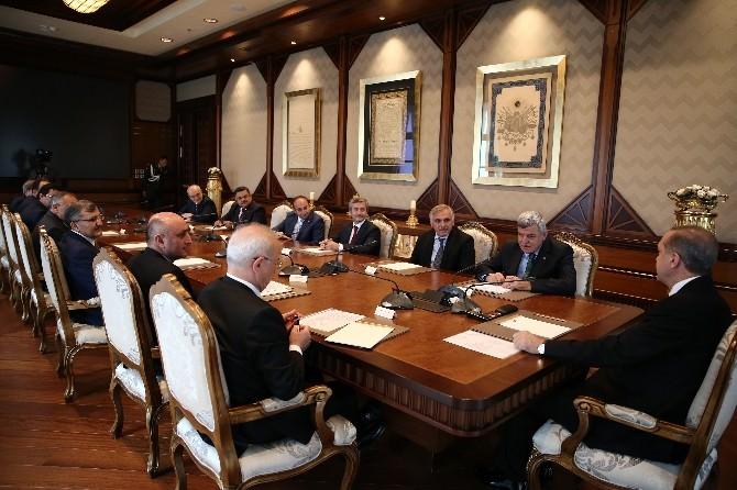 Başkan Yağcı, Cumhurbaşkanı Erdoğan'ı Ziyaret Etti