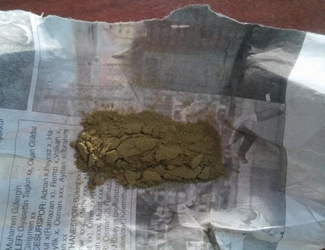 Siirt'te Uyuşturucu Madde Operasyonu
