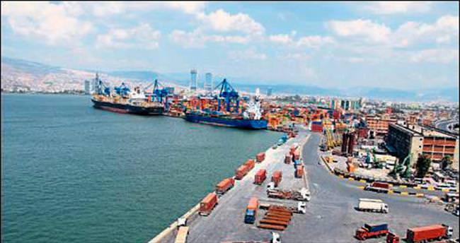 Ege'den 6 ayda 5 milyar dolarlık ihracat