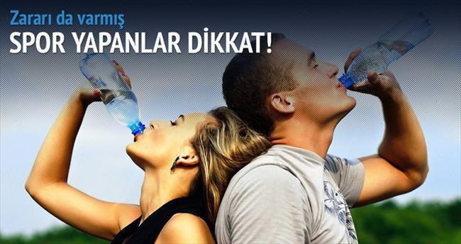 Sporda aşırı su içmek öldürebilir