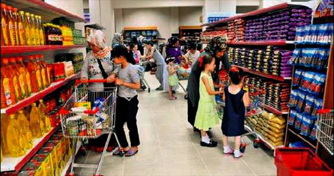 Sosyal marketten 28 milyonluk yardım