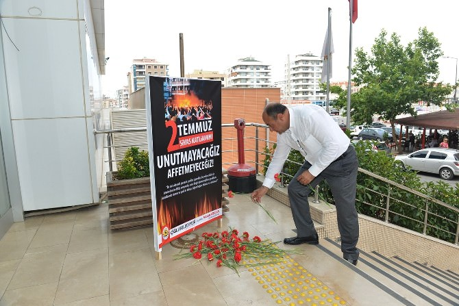 Sivas Katliamına Çiğli'de Hüzünlü Anma