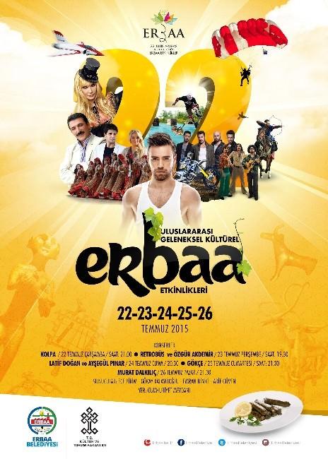 Erbaa'da Festival Heyecanı