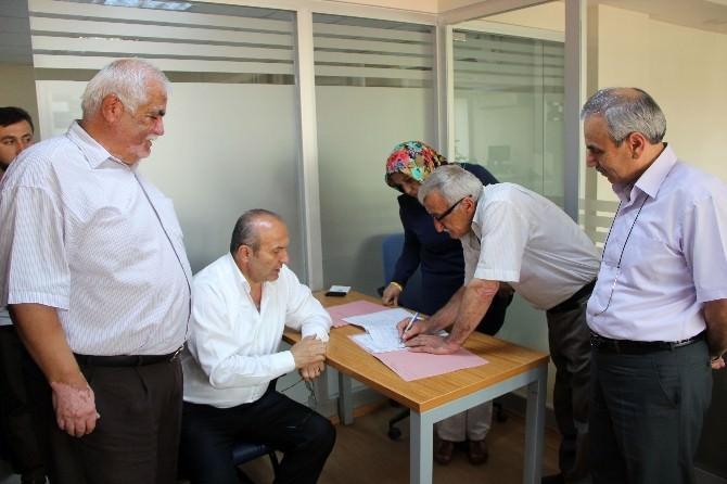 Taşköprü OSB'de İmzalar Atıldı