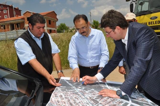 Uşak'ta Mehmet Akif Ersoy Mahallesi'ne Yeni Yatırımlar