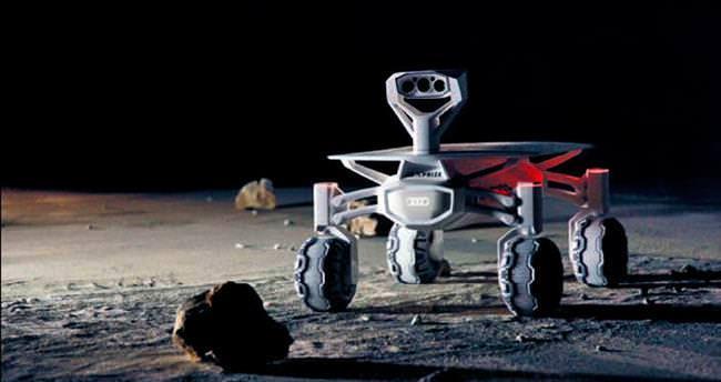 Audi Ay'a gidiyor